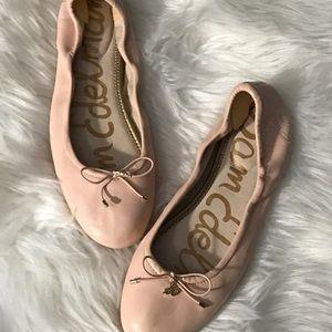 Sam Edelman seashell pink Felicia flats sz9.5